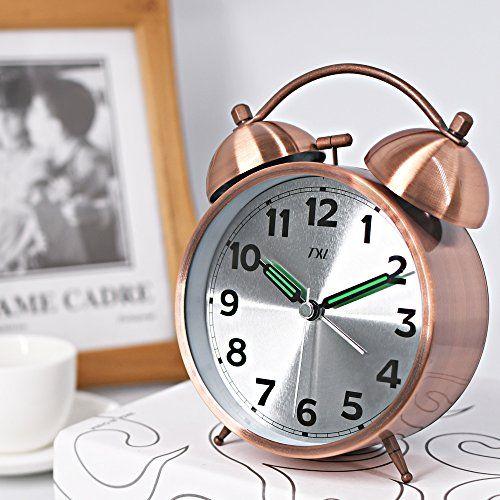 bedroom alarm clock. Alarm Clock Twin Bell Quartz Analog 4 5  Bedside Desk Loud Night Light Travel 143 best alarm clock images on Pinterest clocks Digital