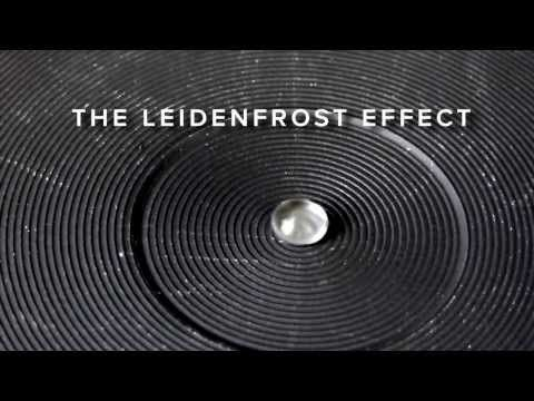 the Leidenfrost Effect and When Water Flows Uphill - Researchers test ridged surfaces and temperatures in order to control the movements of hot water creating the interesting  the Leidenfrost maze for water props