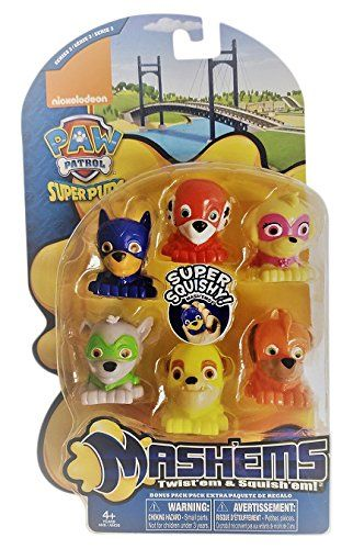 Tech 4 Kids Paw Patrol Value Pack Mash'Ems Action Figure - Toys 4 My Kids