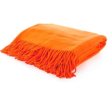 Silk Impressions Silk Throw - TANGERINE #ilovetoshop