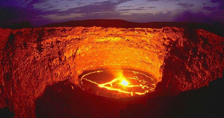 Volcanes increíbles: el volcán Erta Ale y su lago de lava