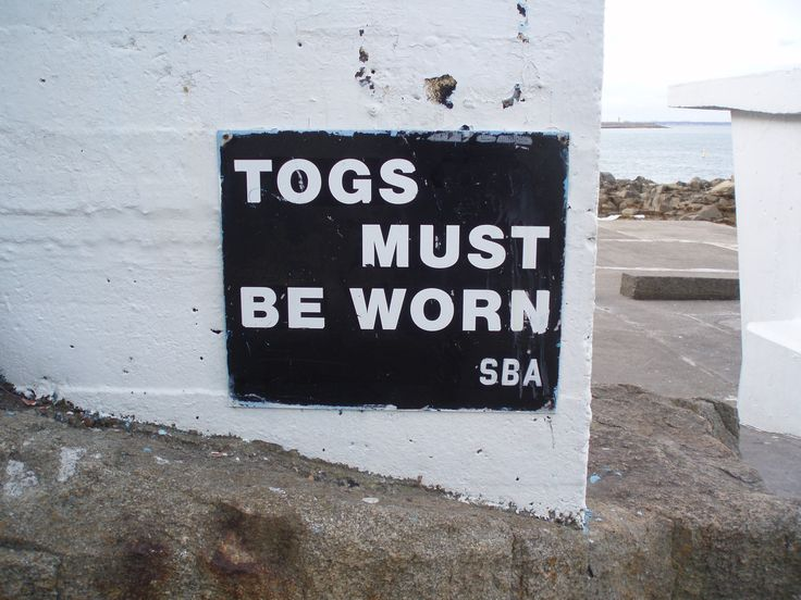 Signage , Forty Foot