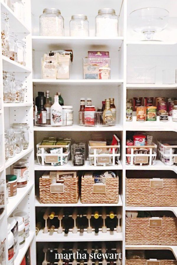 16 Of The Best Pantry Storage Ideas For Creating A Tidy Space Diy Pantry Organization Pantry Storage Home Organization