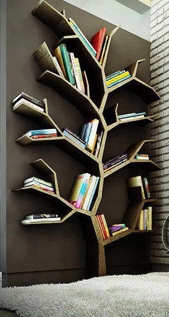 #room ideas Stack your books in a fun,original,and organized way...     FOLLOW::(isabella n)