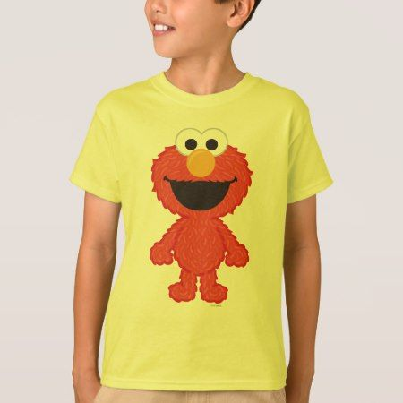 Elmo Wool Style T-Shirt - click/tap to personalize and buy