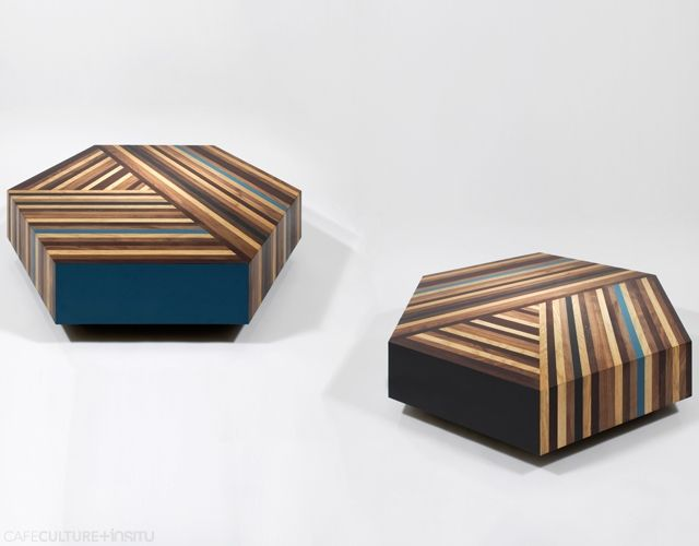 PARQUETRY COFFEE TABLE / Lee Broom Via Cafe Culture + Insitu // #table #