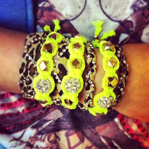 NEON and neutral animal prints