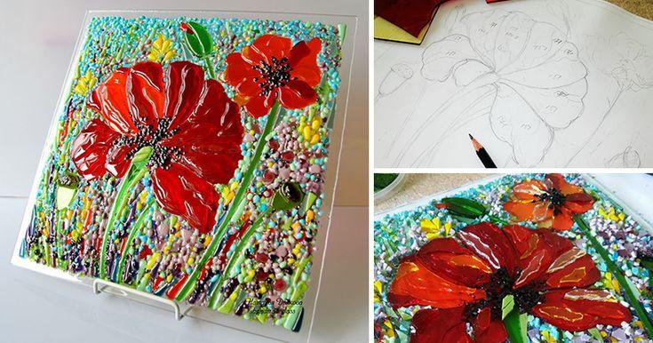 В этом мастер-классе поделюсь процессом создания декоративного панно «Маки». Сам…