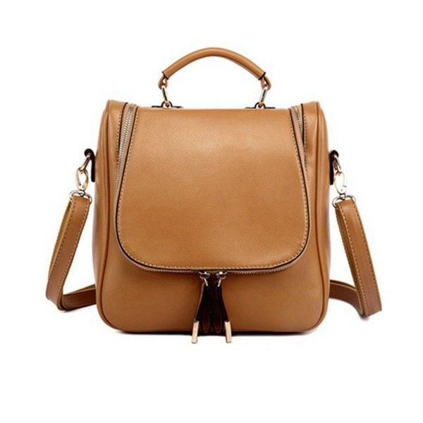 Casual Multifunctional Women's Shoulder Backpack/Diagonal Handbag