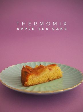 Who doesn't love an Apple Tea Cake? Certainly not me. This Thermomix Apple Tea Cake Recipe is the bomb. I KNOW you'll love it. I do!