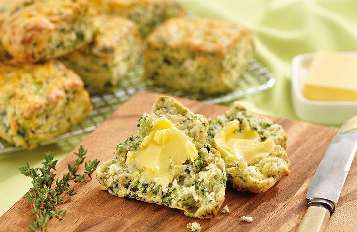 Spinach, Fetta & Thyme Scones