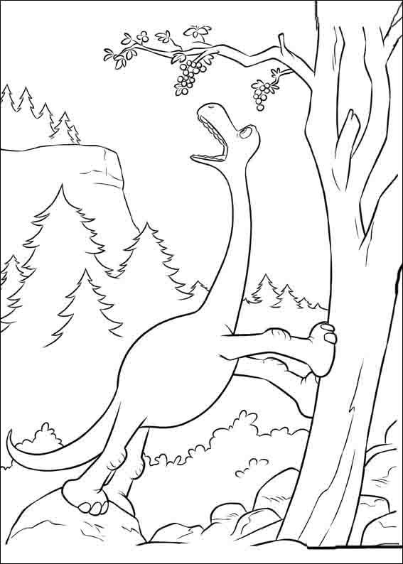 The Good Dinosaur Online Coloring Pages Printable Book For Kids 16