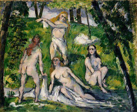 4人の水浴の女たち: ポール・セザンヌ|コレクション|ポーラ美術館