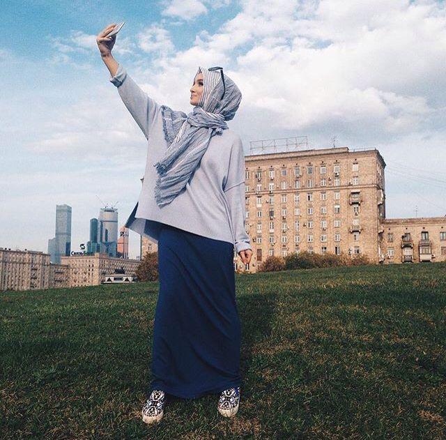 Golovkova  #hijabfashion