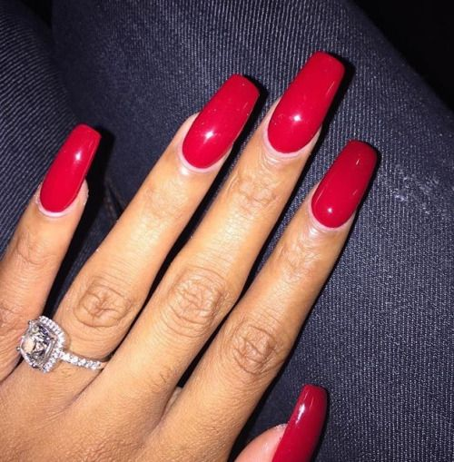 long red nails ideas