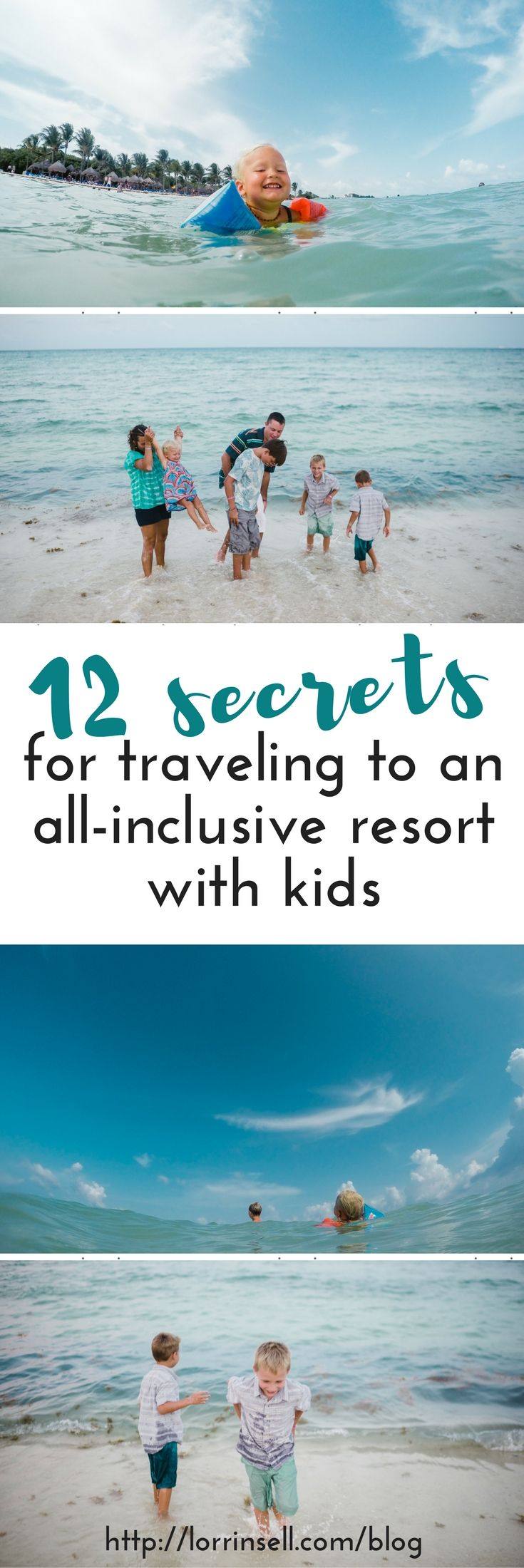 Hotel sandos cancun luxury experience resort marf travel vacation - Tips For Traveling To An All Inclusive Resort With Kids