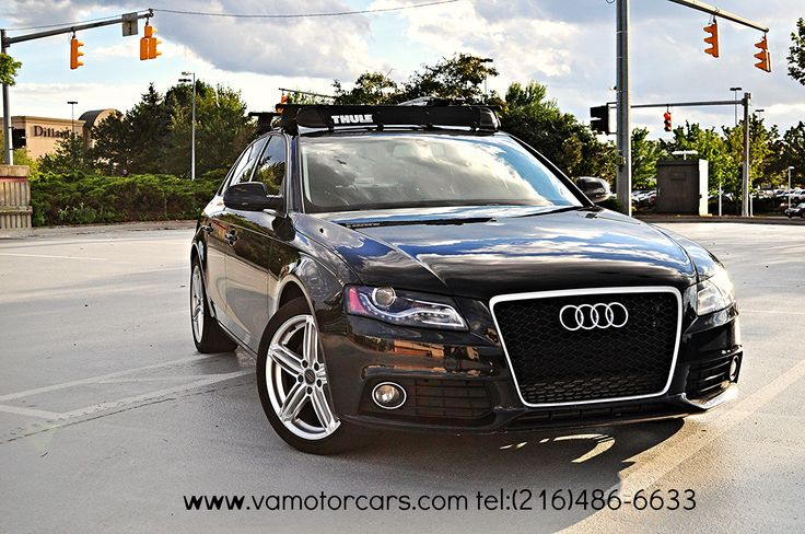 2010 Audi A4 With Thule Roof Rack RS4 Grill #audi #a4 #thule #roof #rack #premium #plus #rs4 #grill #euclid #used #car #dealer