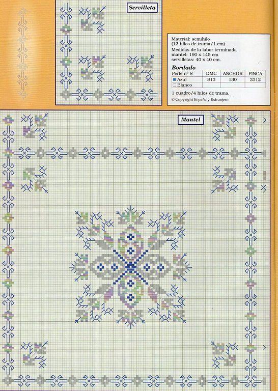 bordado lagartera | Aprender manualidades es facilisimo.com