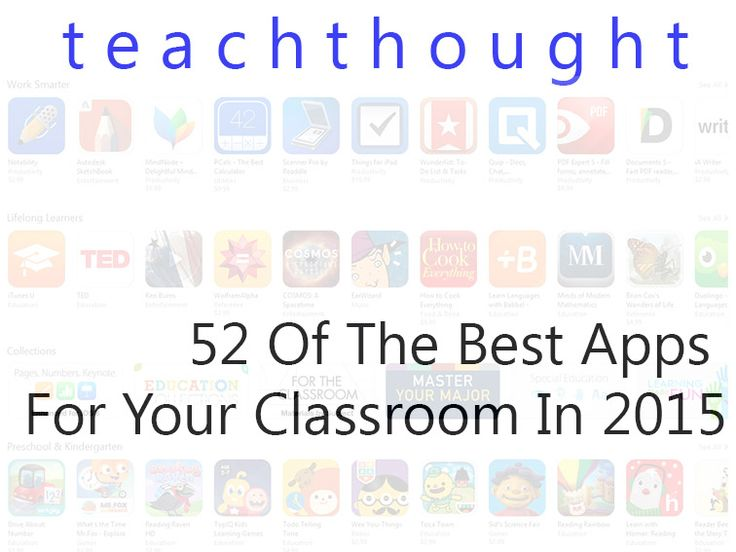 What are the best apps for your classroom? The best little bits of software to use tomorrow, in your school, to make your classroom go?