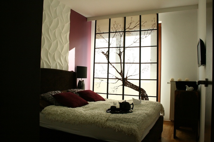 Japanese Style Interior Design (ORIGAMI decorative panel)