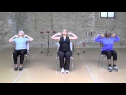 Chair Exercise for Balance and Posture - YouTube