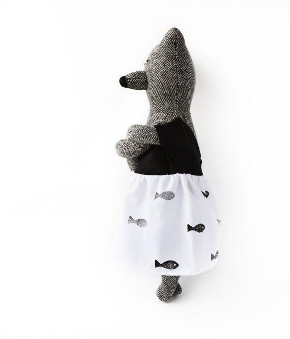 Louise The Bear. Stuffed Bear. Child friendly by PhilomenaKloss