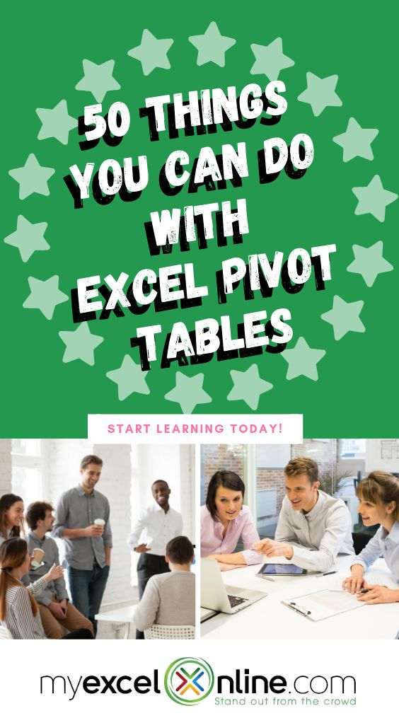50 Issues You Can Do With Excel Pivot Tables