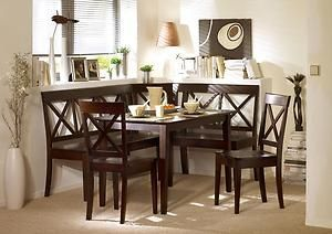 corner bench dining set booth table chairs kitchen breakfast nook