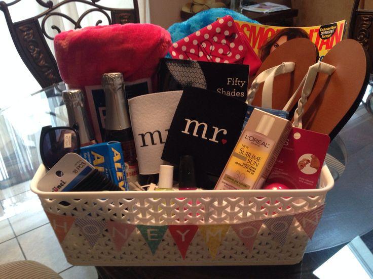 Wedding Magazine Subscription Gift: 17 Best Ideas About Honeymoon Basket On Pinterest