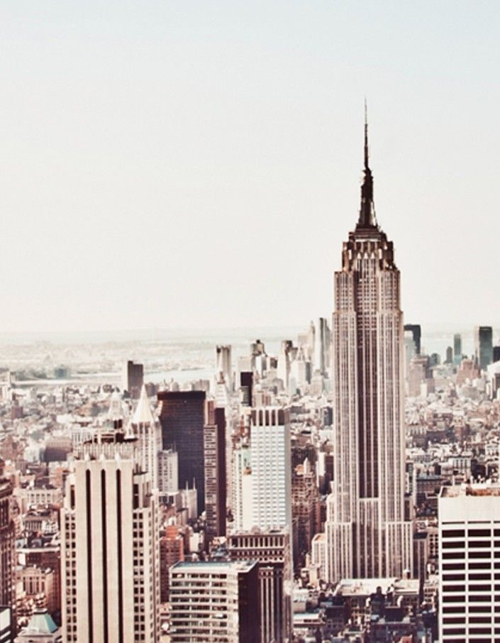 A New York Morning Framed Print - White - Home - Superette | Your Fashion Destination.