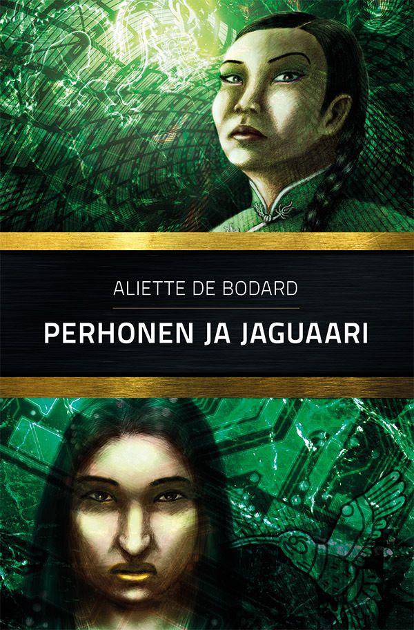 Book cover for Perhonen ja jaguaari by Teemu Helenius, via Behance