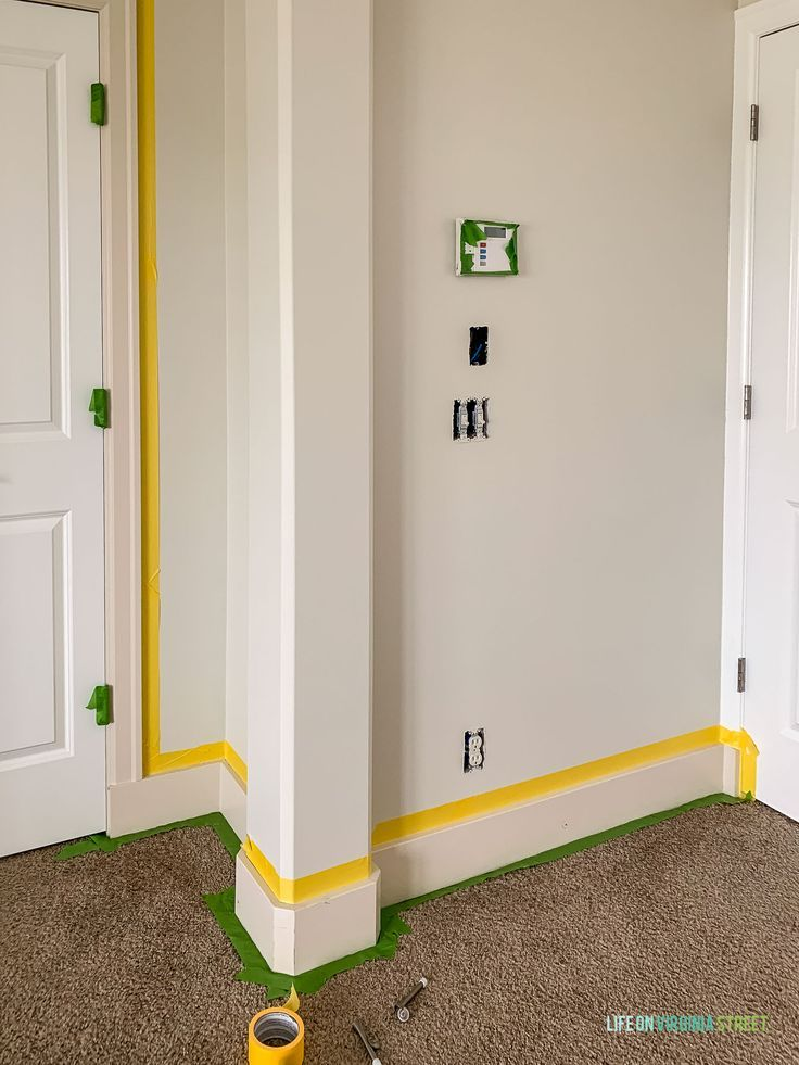 How To Paint Baseboards And Trim Painting Baseboards Baseboards Painting Trim