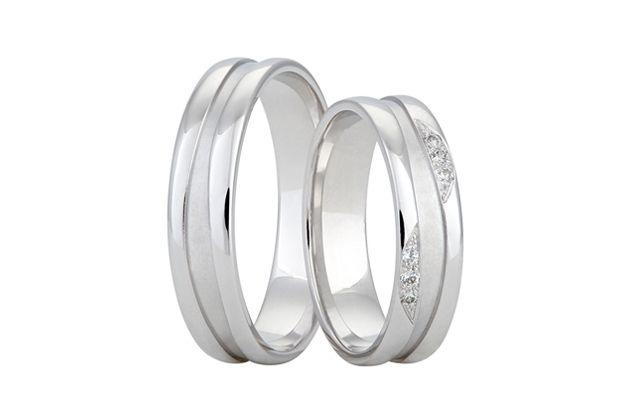 Snubní prsteny - model č. 351/02