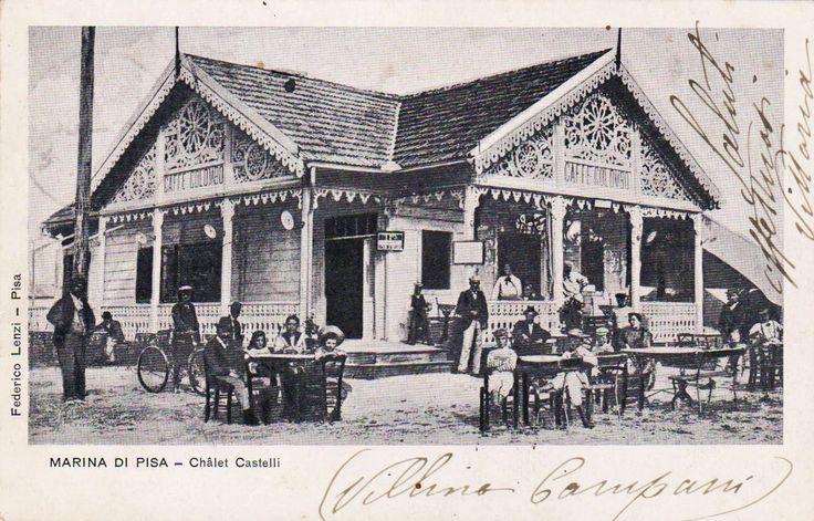 1906 Marina Di Pisa - Chalet Castelli Bar Caffè Colombo
