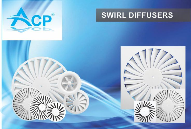 Swirl Air Diffusers  http://www.acp.ro/produse/?filter_portfolio_category=swirl-diffusers