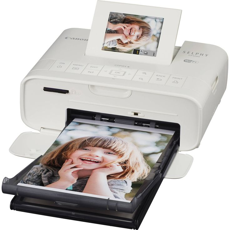 Canon SELPHY CP1200 Wireless Compact Photo Printer (White)