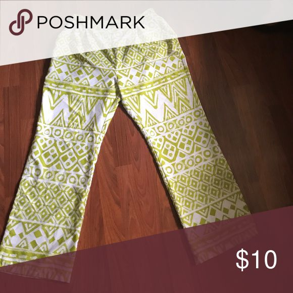 Tribal print pants Grate for summer and comfortable. Other
