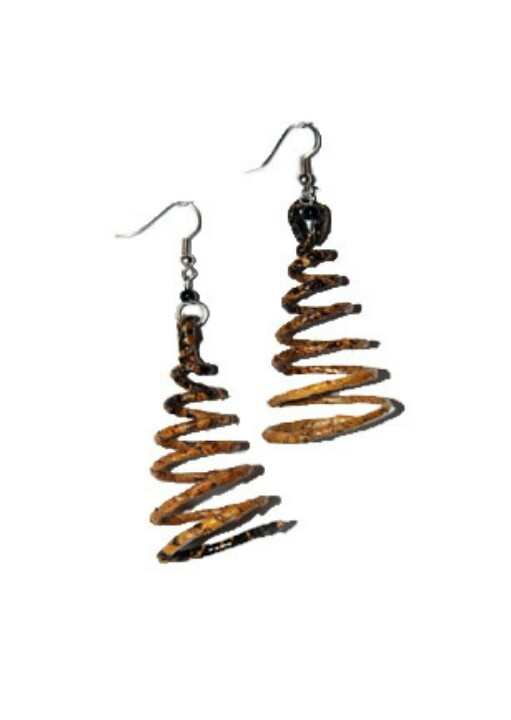Hand made earing African style from www.fashionboutique.co.za