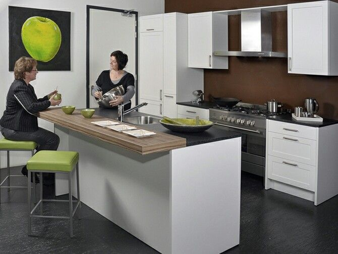 Keuken Met Schiereiland : Meer dan 1000 idee?n over Keuken Schiereiland op Pinterest – Keukens