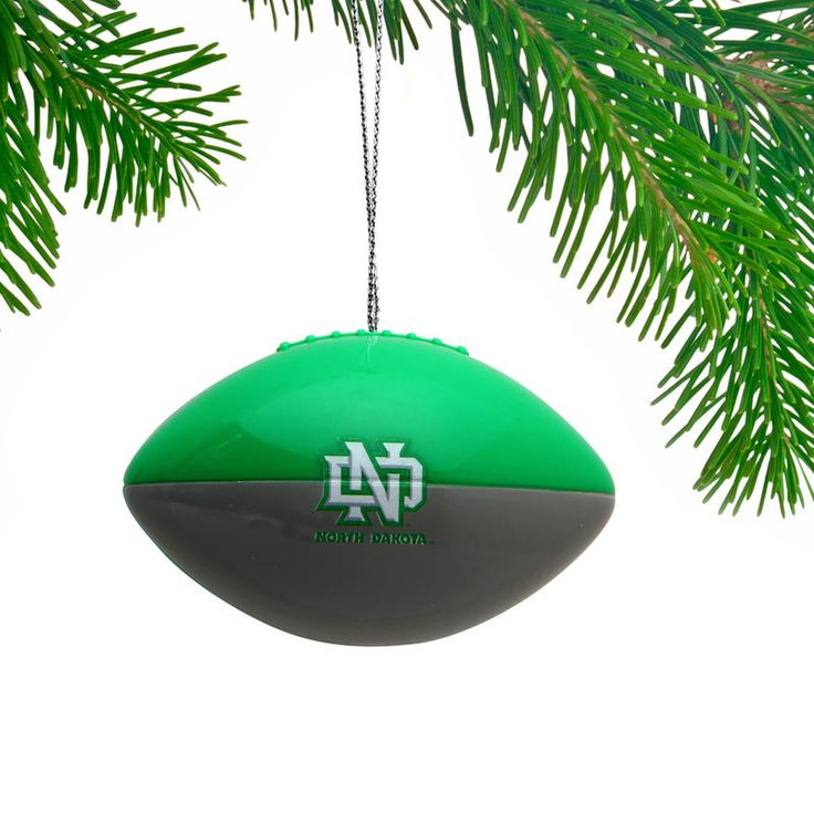 North Dakota Football Team Ball Ornament
