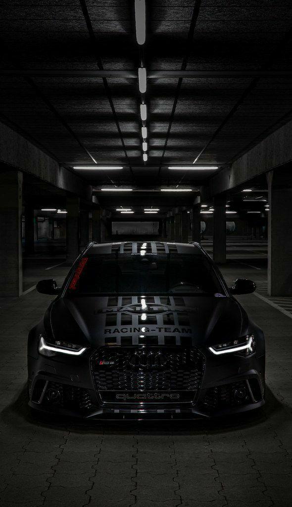 Audi Rs6 Black Black Quattro Super Araba Luks Arabalar Havali Arabalar