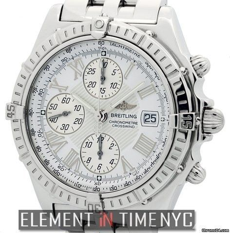 Breitling Windrider Crosswind Chronograph Stainless Steel Ref. A13355 Price On Request