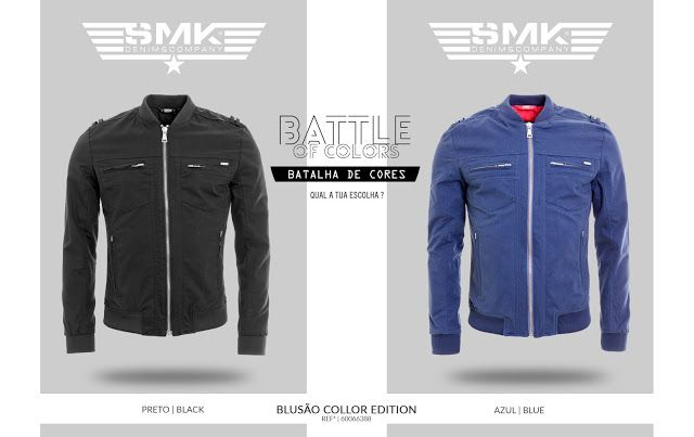 SMK DENIM&Co.: SMK DENIM&Co. | BLUSÃO COLLOR EDITION