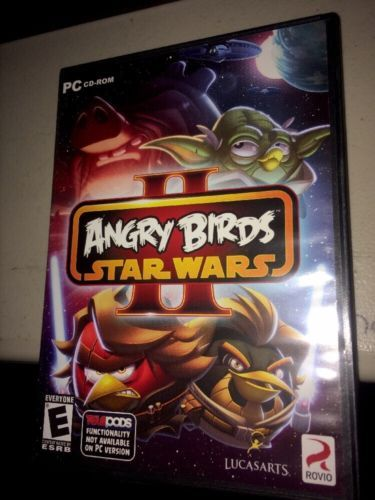 angry birds --- star wars 2 --- action adventure computer game