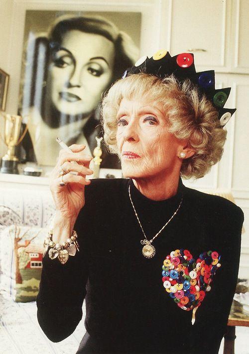 Bette Davis, 1989