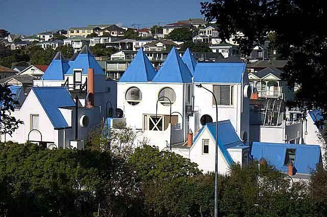Park Mews apartments 1975 Wellington NZ Roger Walker