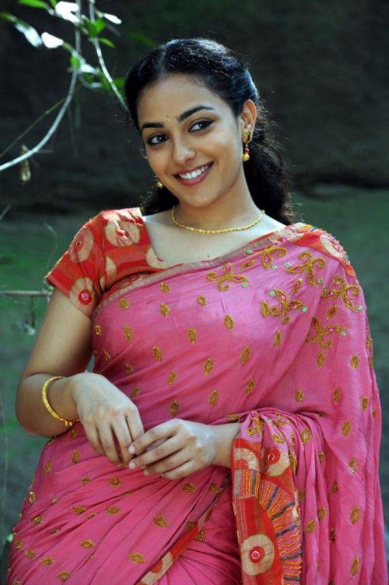 Indian Saree - South Indian Actress Nitya Menon in Designer saree  For more pics please visit www.minmit.com