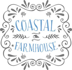 Create an easy-going beach vibe in your coastal home with the cool, casual colors of Coastal Farmhouse's beautiful coastal home décor.