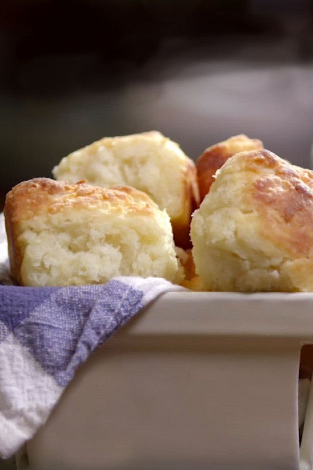 Buttermilk biscuits - self rising flour=1 C. AP + 1 1/2 tsp. Baking Powder + 1/4 tsp. salt ~ these are VERY good!