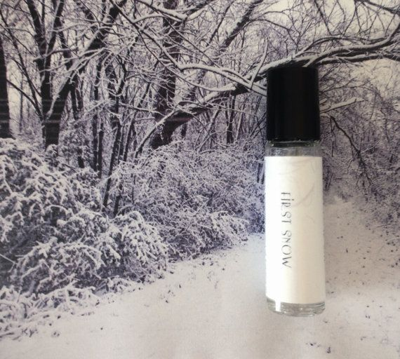 First Snow  #PerfumeOil  Roll On Perfume Oil  by SymbolicImports, $9.00 #peppermint #vanilla